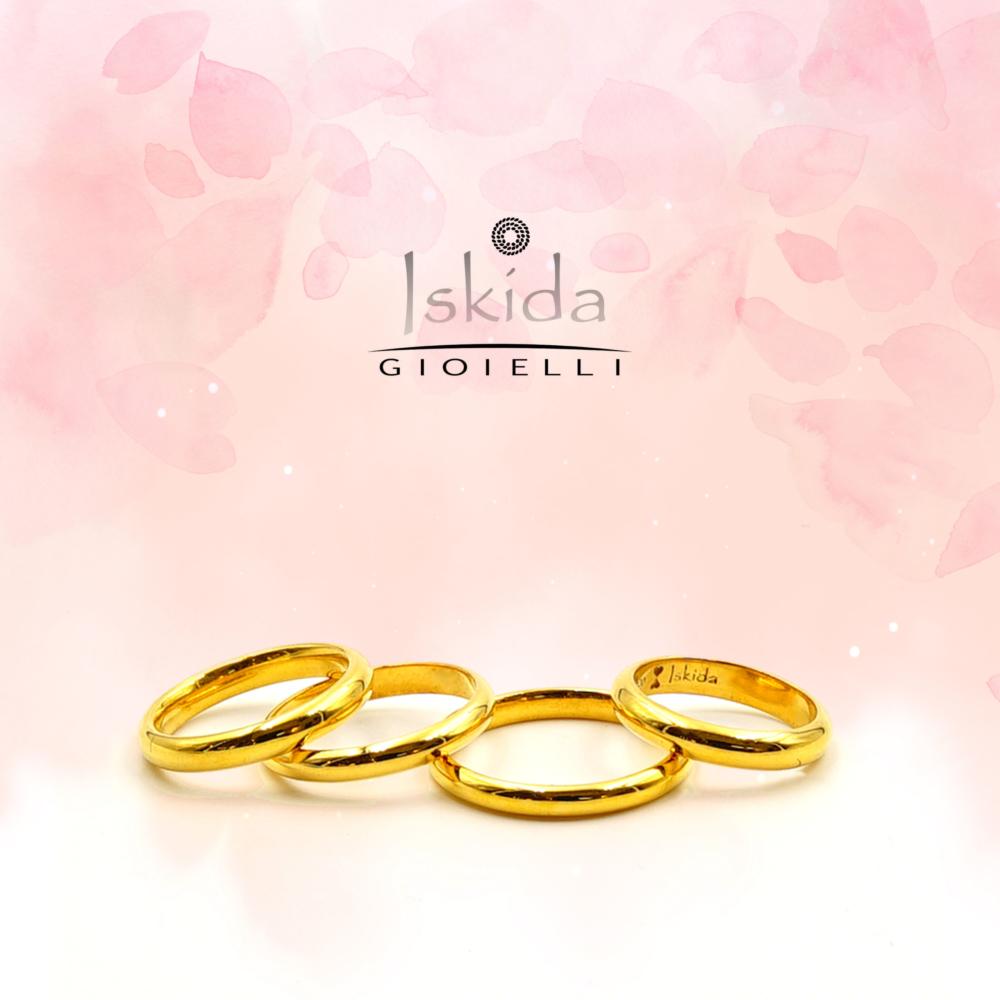 Ci sono i gioielli e poi lui... l'anello più importante della tua vita | Fedi nuziali | Iskida Gioielli Ci sono i gioielli e poi lui… l'anello più importante della tua vita | Fedi nuziali | Iskida Gioielli